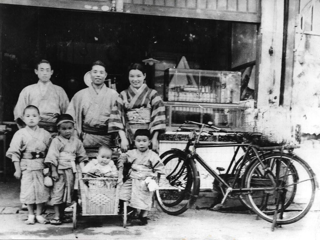 小澤商店創立当時の写真